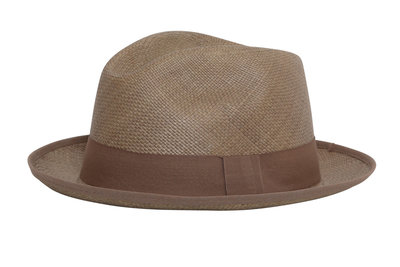 Panama Hat Aguacate Gris