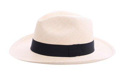 Panama Hat Fedora Natural (wide edge)