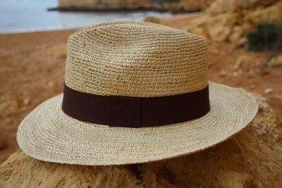 Panama Hat Fedora Crochet