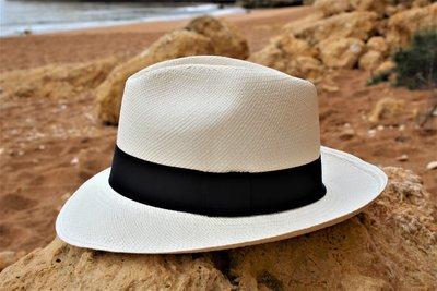 Panama Hat Fedora Clasico (7 cm rim)