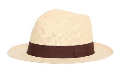 Panama Hat Fedora Natural (5 cm rim)