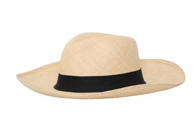 Panama Hat Fedora Natural (10 cm rim)
